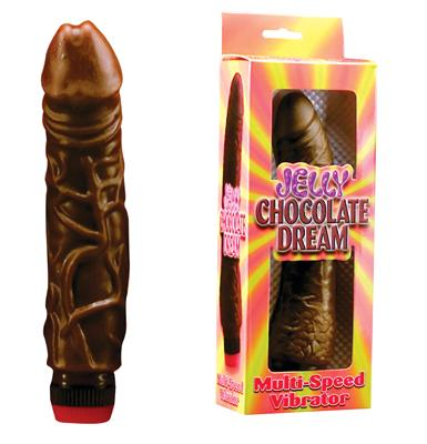 Jelly Chocolate Dream Multi-Speed Vibrator No. 2