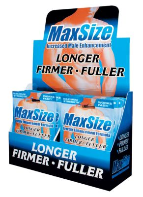 Max Size- Erectile Enhancement