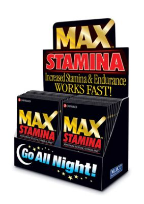 Max Stamina - Maximum Sexual Stimulant