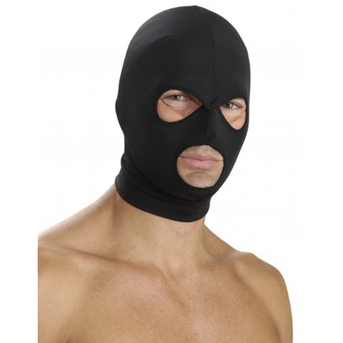 Spandex Hood with Mouth & Eye Openings