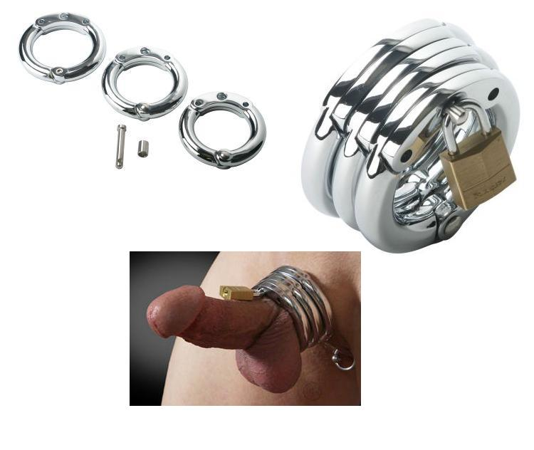 The Triple Locking Cock Ring Set