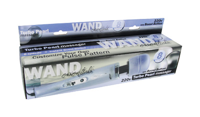 Wand Essentials 8 Speed Turbo Pearl Massager - 220V