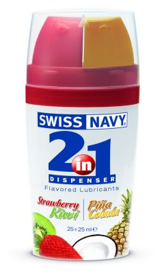 2-in-1 Dispenser: Flavored Lube