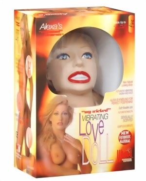 Alexas Vibrating Love Doll