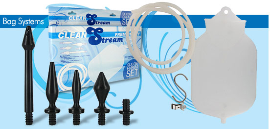 Clean Stream Premium Silicone Enema Set