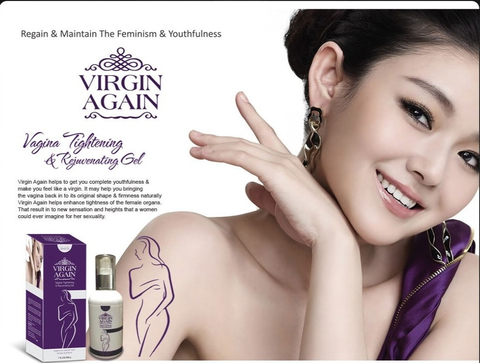 Vagina Tightening & Rejuvenating Gel - Virgin Again